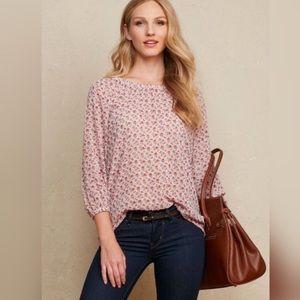 Matilda Jane Chelsea Floral Pink Blouse - XL